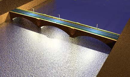 広瀬川に架かる牛越橋を架け替えてみよう